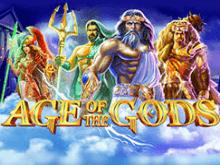 Вулкан игровой автомат с фриспинами Age Of The Gods